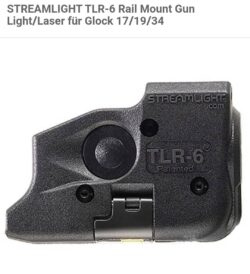 Streamlight TLR-6 Licht-Laser Modul für Glock 17/19/34